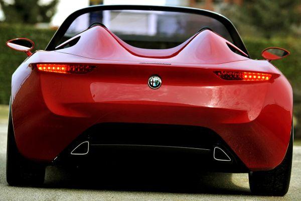 2015 - Alfa Romeo Duetto Rear View