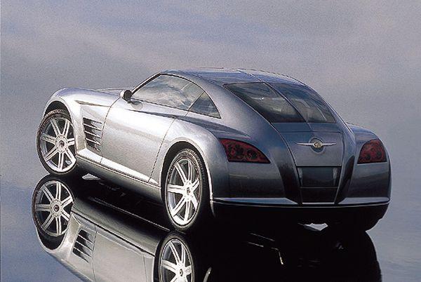 2015 - Chrysler Crossfire  Rear View