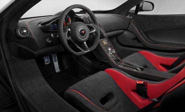 2015 - Mclaren 650S Interior