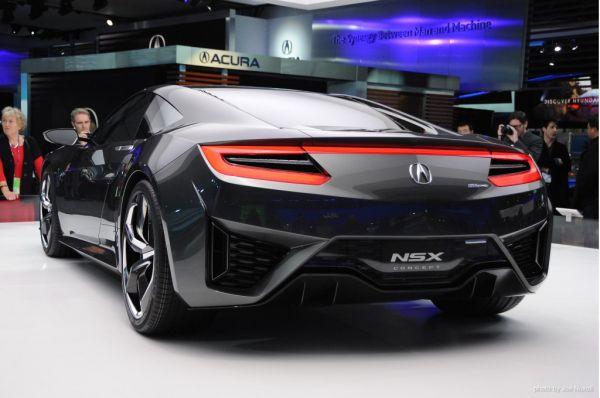 2015 - Acura NSX  Rear View