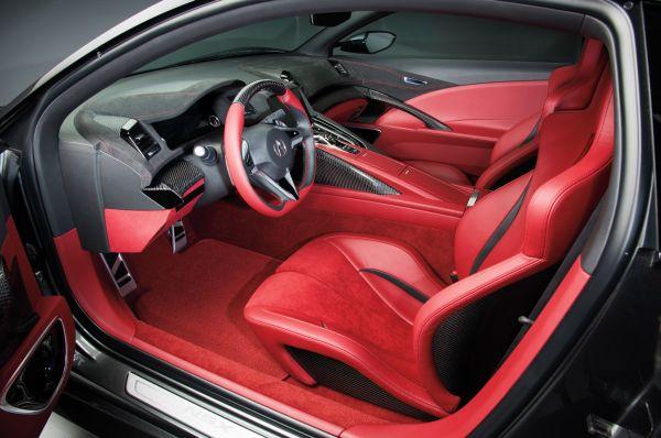 2015 - Acura NSX  Interior