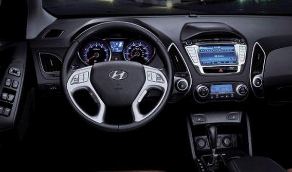 2015 - Hyundai Tucson Interior