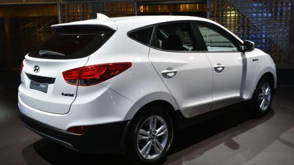 2015 - Hyundai Tucson Emgine