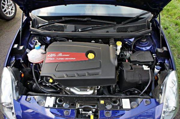 Alfa Romeo Giulia 2017 - Engine
