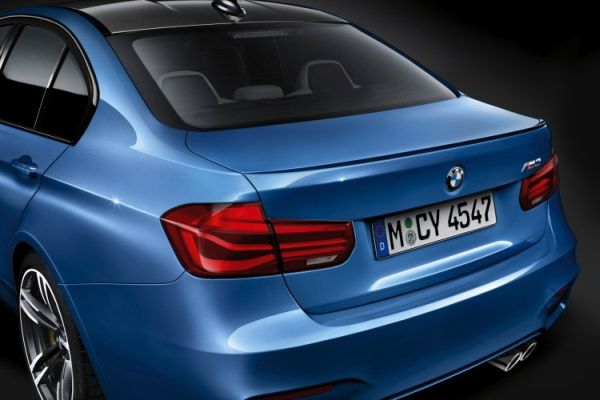 BMW 1 Series Sedan 2016 - Rear View