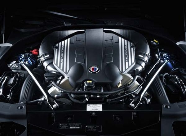 BMW 5 Series Coupe 2016 - Engine