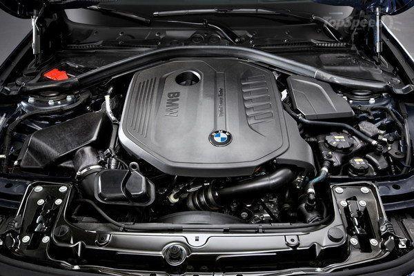 BMW M3 2016 - Engine