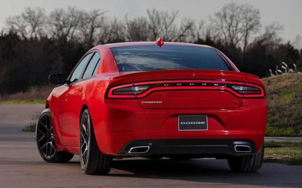 2017 Dodge Charger - Rear View