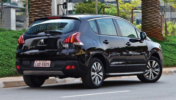 2015 - Peugeot 3008 Rear View