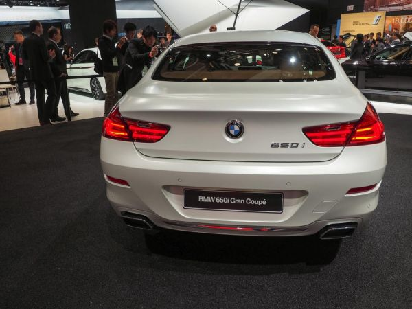 2015 - BMW 650i Coupe Rear View