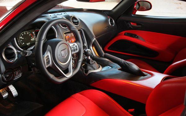 2015 - Dodge SRT Viper Interior