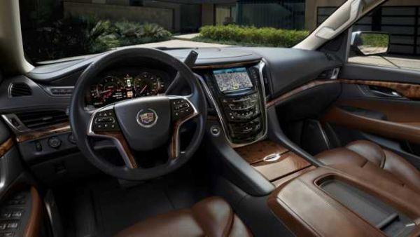 2016 - Cadillac Escalade ESV Interior