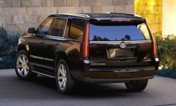 2016 - Cadillac Escalade ESV Rear View