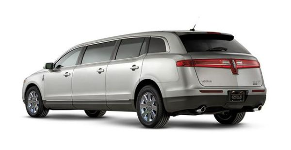 Rear View of 2015 - Lincoln MKT Limousine