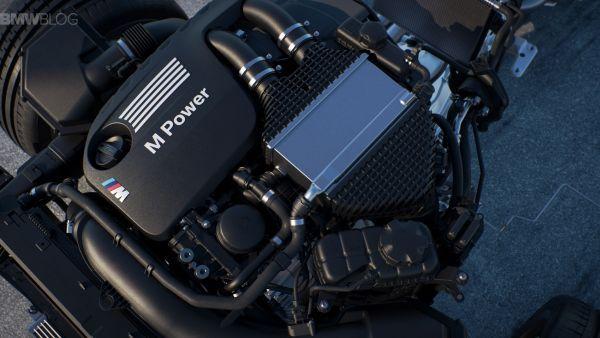 2016 BMW M4 GTS - Engine