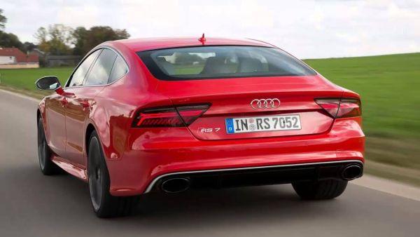 Audi RS7 2016 - Rear View