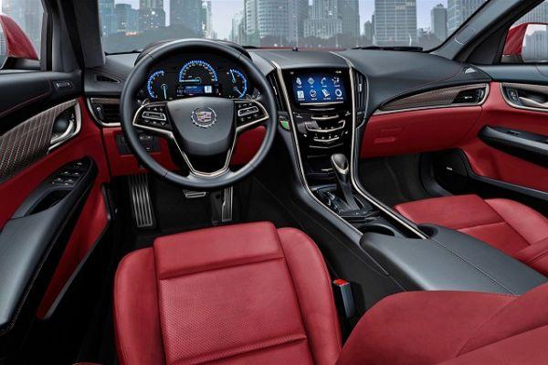 2015 - Cadillac ATS Coupe Interior