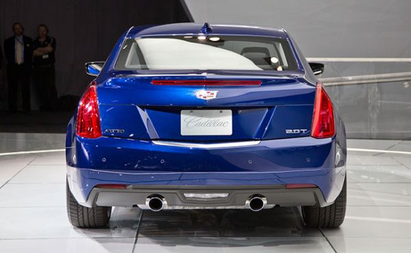 Rear View of 2015 Cadillac - ATS Coupe