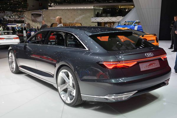 Audi Prologue 2015 Rear View