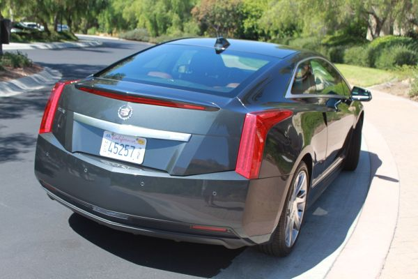 Rear View of Cadillac ELR 2015