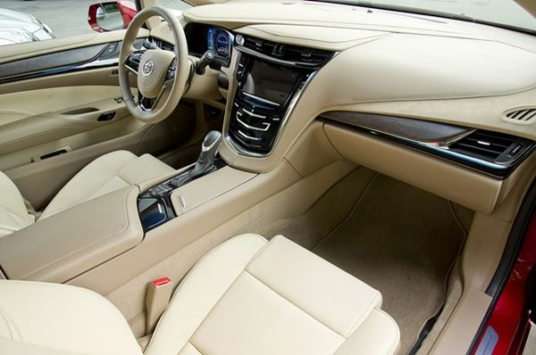 2015 - Cadillac ELR Interior