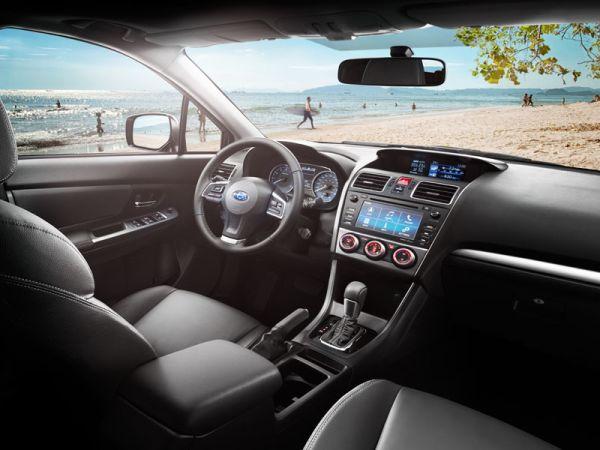 Subaru XV Crosstrek 2015 Interior