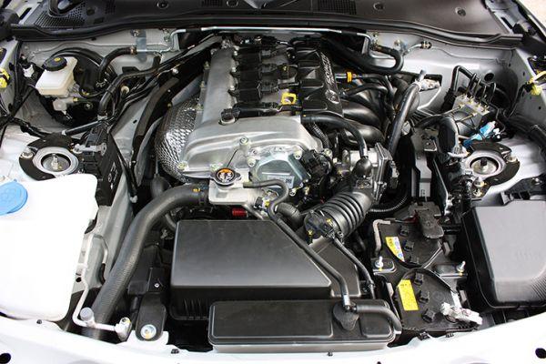 2016 Mazda MX-5 Miata convertible Engine