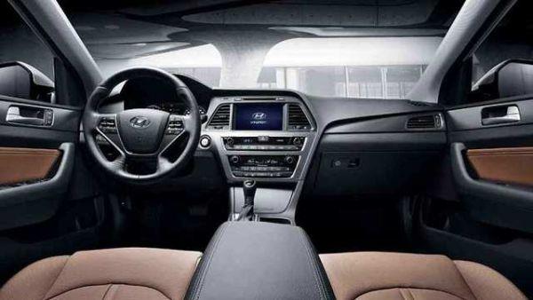 2015 Hyundai Sonata Hybrid Interior