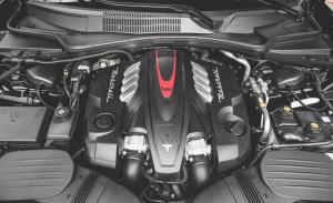 2015 Maserati Quattroporte Engine