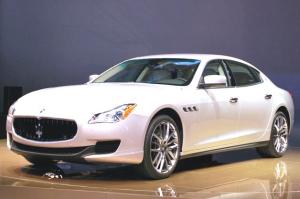 2015 Maserati Quattroporte Exterior