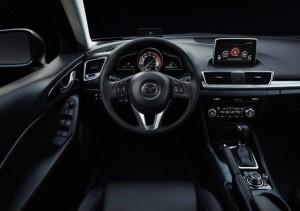2015 Mazda 3 interior