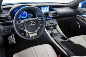 2015 Lexus RCF Interior