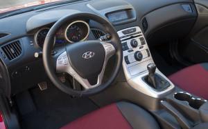 Hyundai Genesis Coupe 3.8 Interior