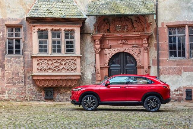 New 2022 Honda HR-V e:HEV Hybrid Compact SUV Price