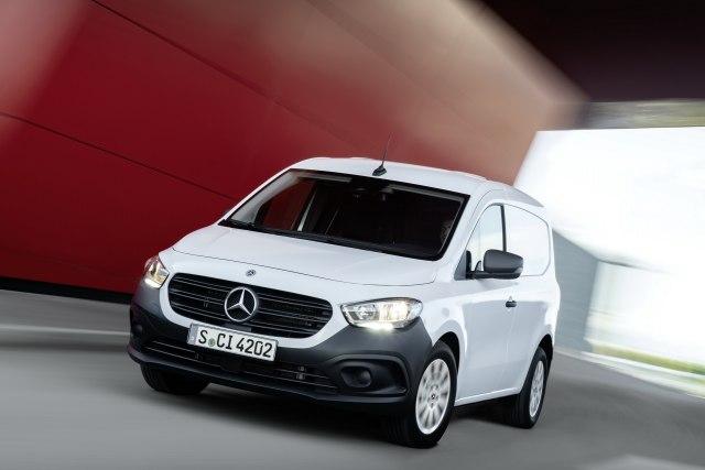 2022 Mercedes eCitan Electric Van Price, Range, Battery