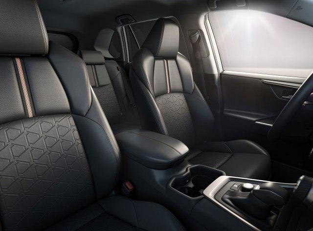 2022 Toyota RAV4 Adventure Hybrid SUV interior seats view