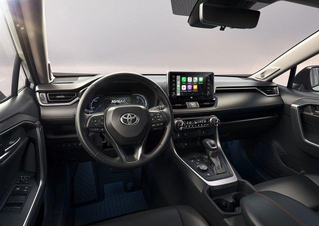 2022 Toyota RAV4 Adventure Hybrid SUV interior view