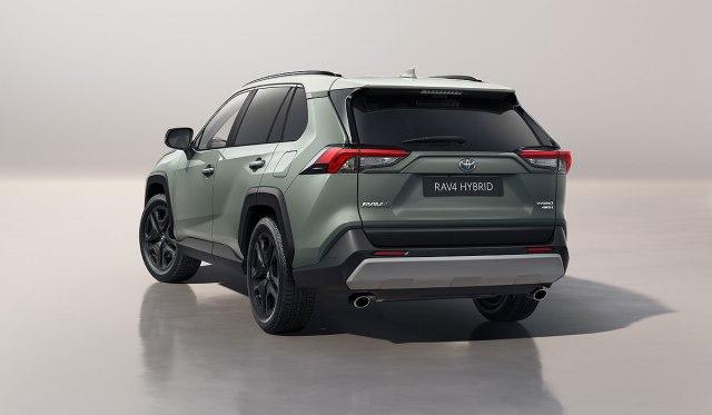 2022 Toyota RAV4 Adventure Hybrid SUV rear view