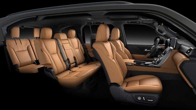 2022 Lexus LX 600 Interior view seats