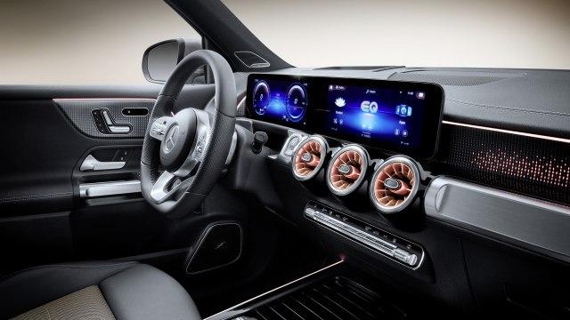 2022 Mercedes-Benz EQB Electric SUV  interior