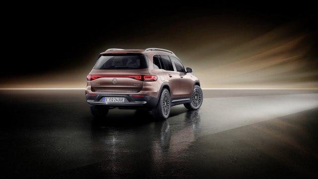 2022 Mercedes-Benz EQB Electric SUV rear view