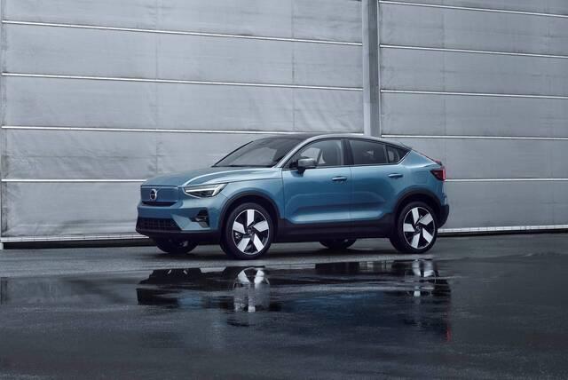 2022 Volvo C40 Recharge EV SUV Price, Range