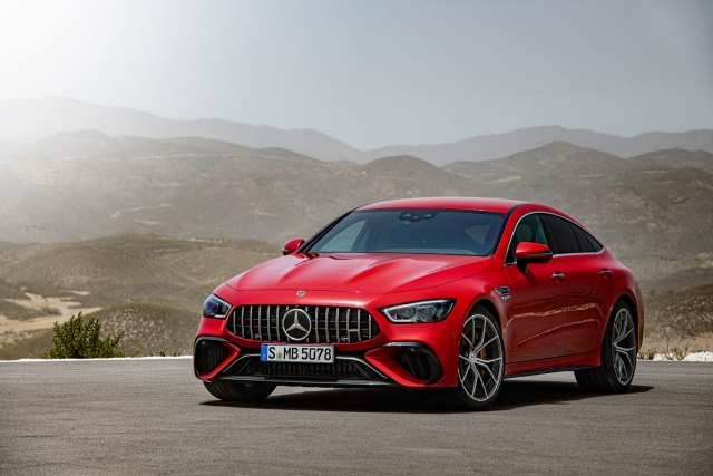 2023 Mercedes-AMG GT 63 S E Performance Hybrid front view