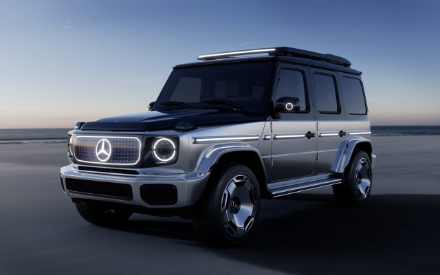 2023 mercedes-benz electric g-class eqg suv concept front view
