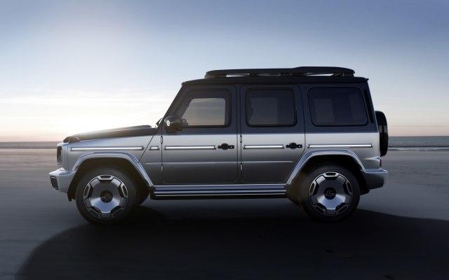 2023 Mercedes-Benz Electric G-Class EQG SUV Concept