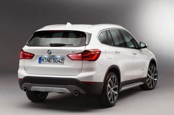 BMW X1 2015 - Rear View
