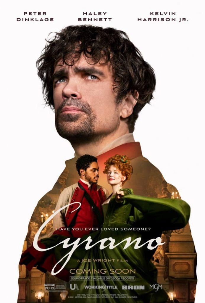 CYRANO movie poster, Cyrano de Bergerac