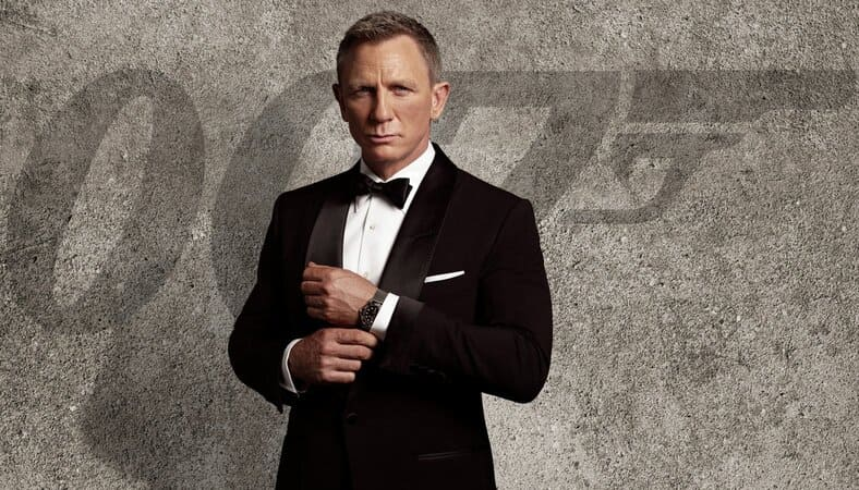 Daniel Craig james bond movie no time to die