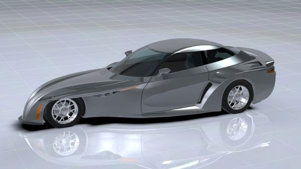 DeltaWing GT Road Car Concept ..