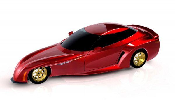 DeltaWing GT Road Car Concept - Fi
